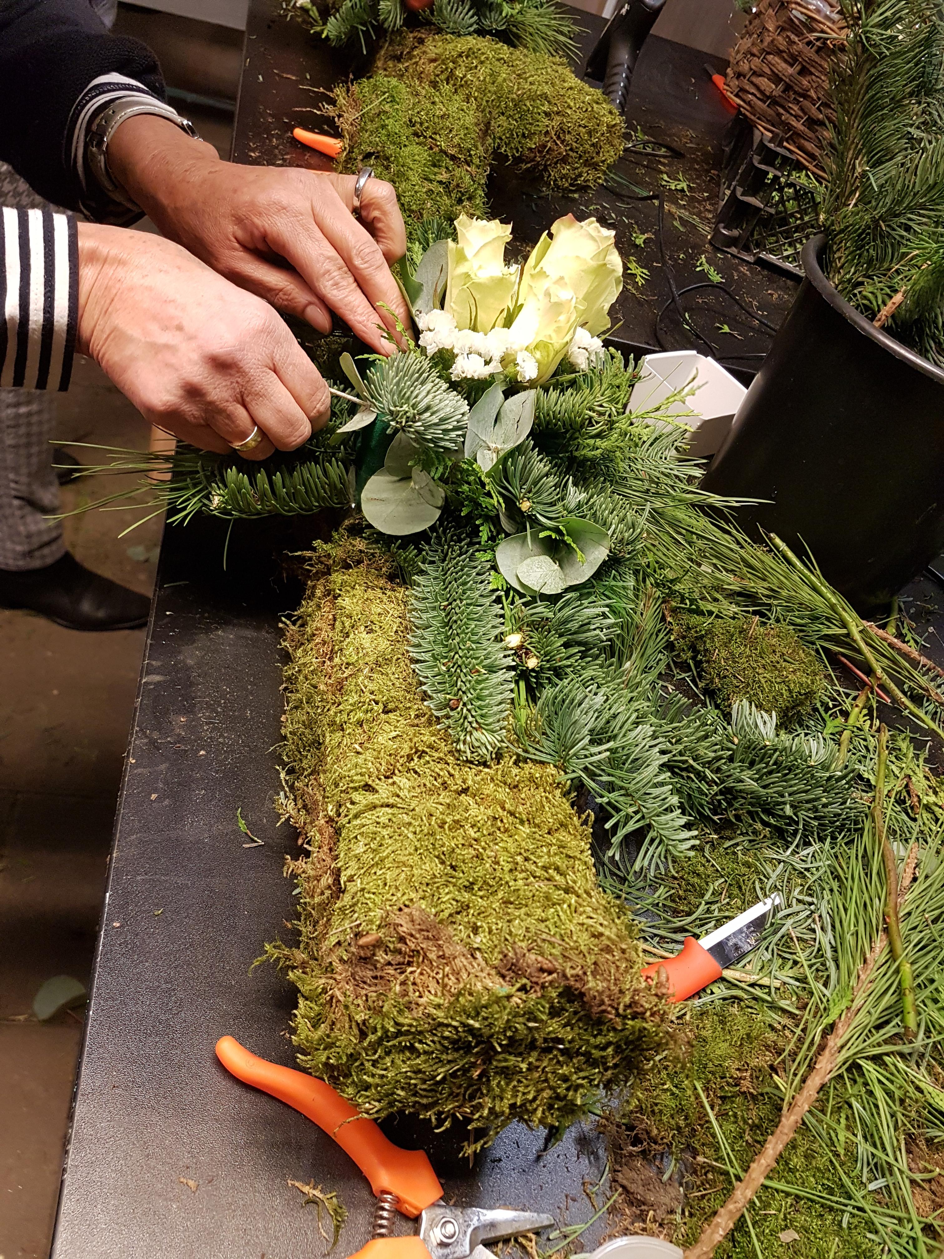 Bekend Workshops | Mimosa Almelo | Workshops bloemschikken & creatief @NS49